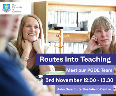 Routes into Teaching poster