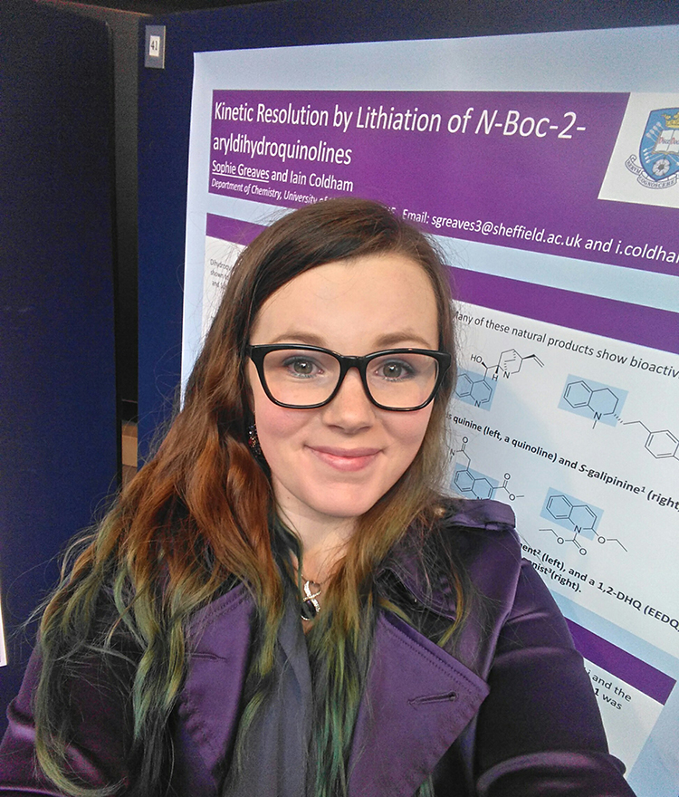 Sophie Greaves has been awarded a Highly Commended Undergraduate Award
