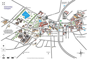Sheffield University Map Interactive campus map   Maps and travel advice   Visitors   The