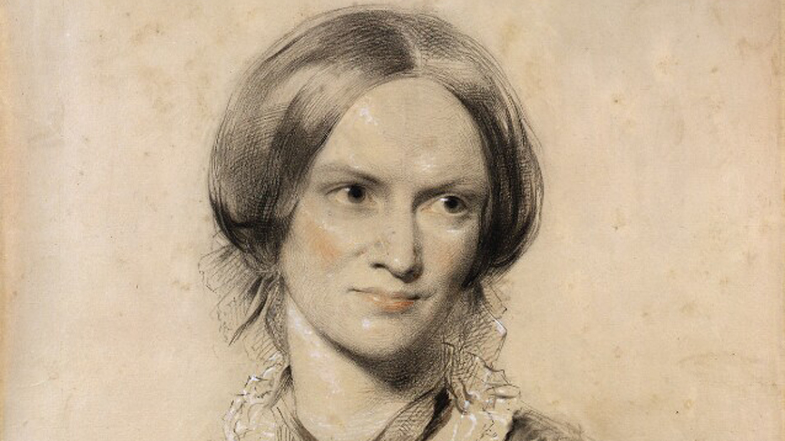 A portrait of Charlotte Brontë by George Richmond. Copyright: National Portrait Gallery London