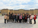Third year Department of Landscape Students at Schonbrunn Palace, Vienna