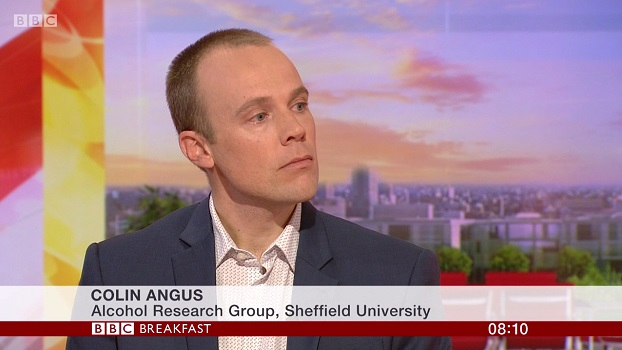Colin Angus on BBC Breakfast