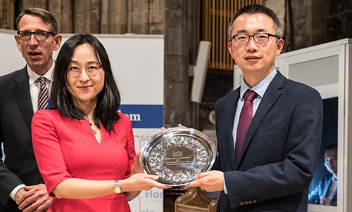 Sheffield's Confucius Institute won a Horasis China Business Award.