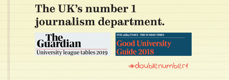 The UK's number 1 journalism department: Guardian and Times university league tables 2018