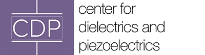 Center for Dielectrics and Piezoelectric logo