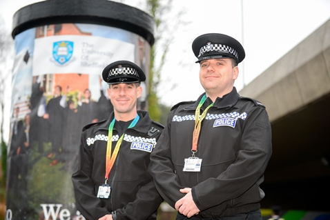 Our two new policer officers