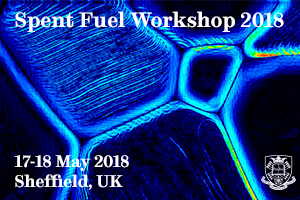 Advert for the Spent Fuel Workshop 2018 17 and 18 May 2018