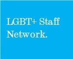 LGBT+ Staff Network block