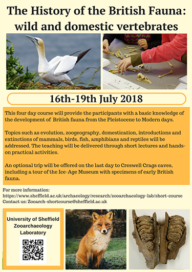 British Fauna Short Course Poster