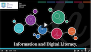 What is Information and Digital Literacy video promo picture