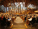 Photo of Scottish parliament