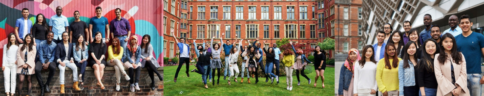 Pictures of the international student ambassadors