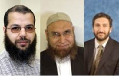 The Muslim Chaplain and two Muslim Advisers