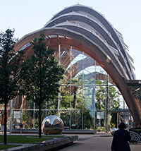 Image of the Sheffield Winter Gardens