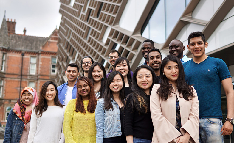 International students at the University of Sheffield