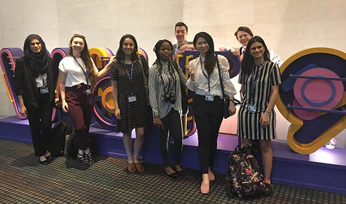 Students at World Urban Forum 2018