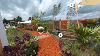 Climate Change Garden at RHS Chatsworth Flower Show