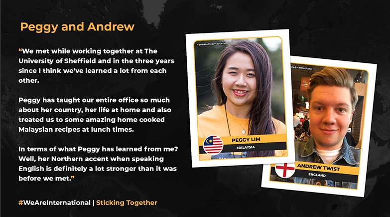 Staff at the University share their story of international friendship