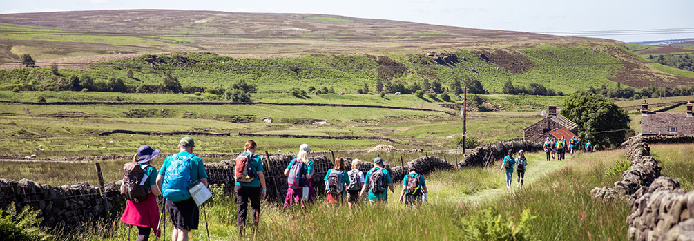 Walkers in Moscar Lodge
