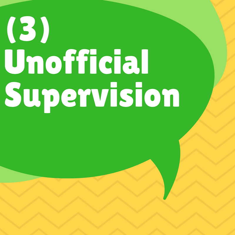 Supervision unofficial