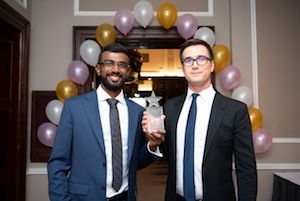 Engineering Students National Winners at Student Employee of the Year Awards