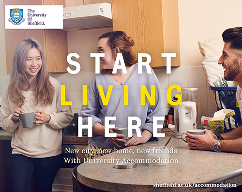 Start living here with university accommodation