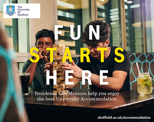 Fun starts here with university accommodation