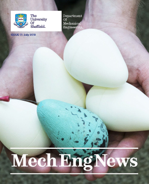 Front cover of MechEng News Issue 17