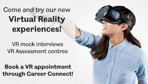 virtual reality careers advert