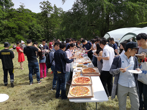 The EMD Group's annual picnic