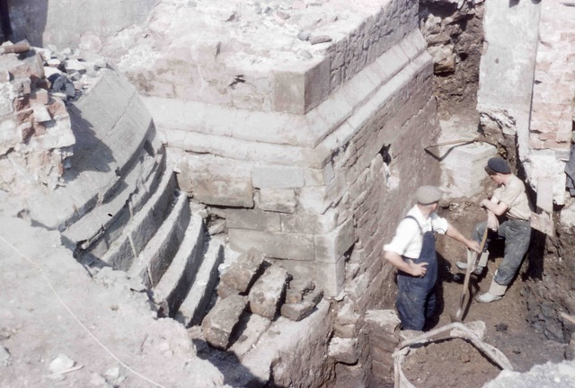 Image of Sheffield Castle excavations