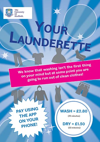 Laundry leaflet for Ranmoor/Endcliffe & City
