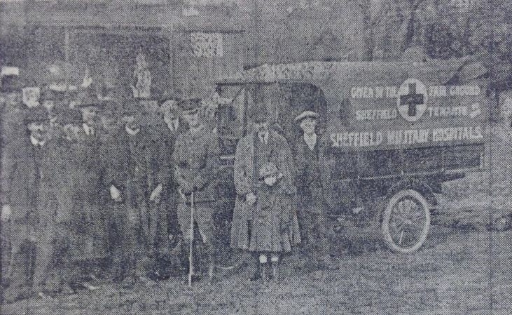 Sheffield showmen's ambulance