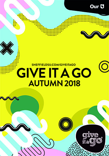 Give it a Go Autumn 2018 programme