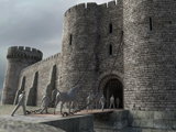 A digital model of Sheffield Castle
