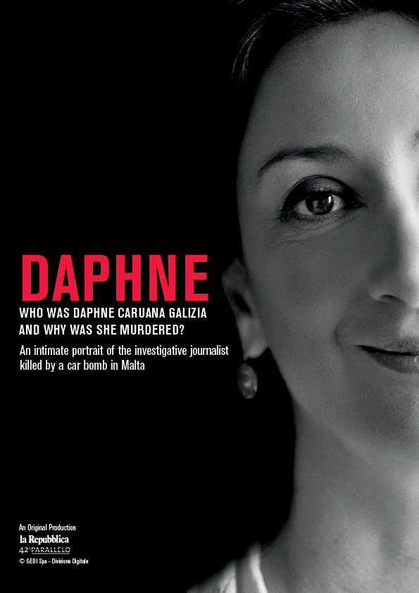 Poster for the film Daphne
