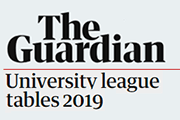 The Guardian university league tables 2019
