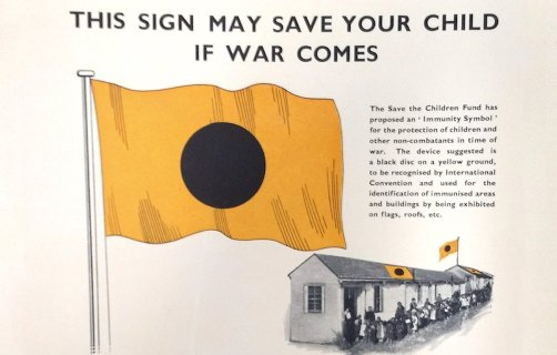 Proposal by Save the Children for 'Special Immunity Zones' for children in war, 1939