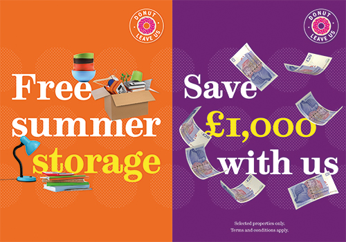Save £1000 and free storage