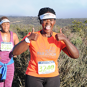 Sikose's South African half-marathon in support of Student Scholarships