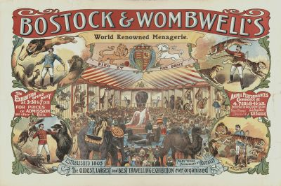 Bostock and Wombwell menagerie image for shop