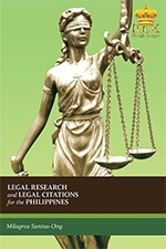 Milagros Santos-Ong - Legal Research and Legal Citations for the Philippines