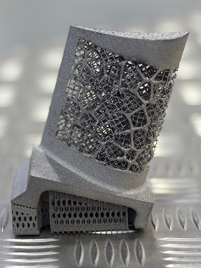 Meso-structure produced using additive manufacturing