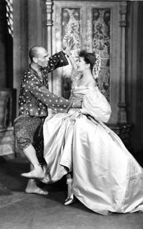 A shot from an original performance of The King and I