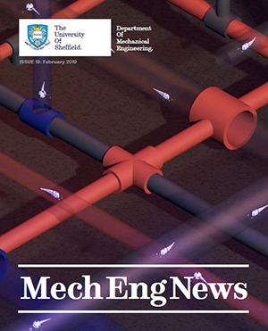 Front cover of MechEng News Issue 19