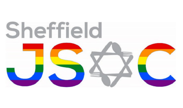Logo reading 'Sheffield JSOC', with a star of David for the 'O'