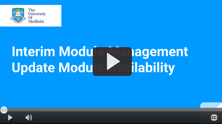Play IMM Module Availability video