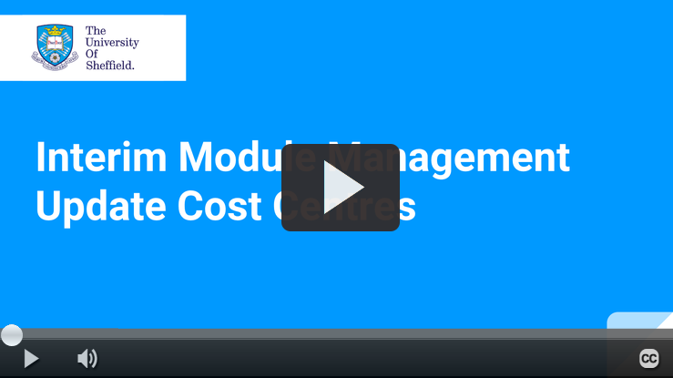 Play IMM Cost Centres video