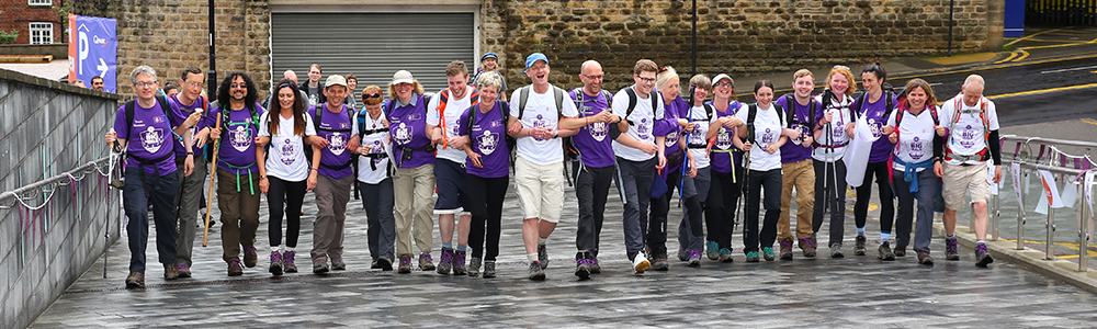 Fundraising walks have taken place at Sheffield since 2015