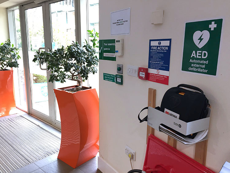 AED North Campus